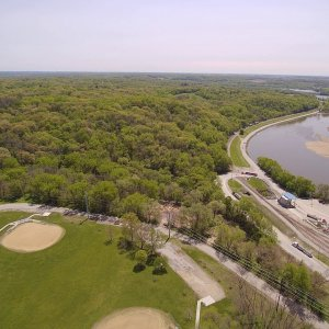 Yuneec Typhoon H drone video from Van Vechten Park Cedar Rapids Iowa